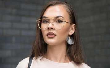 نکته هایی برای آرایش خانم های عینکی