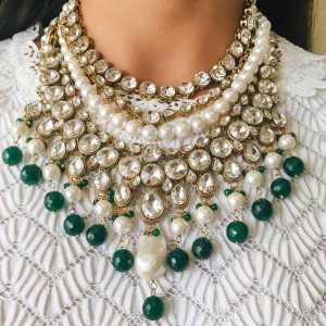 گردنبند جواهر بزرگ