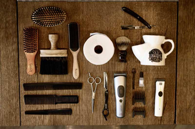 محصولات و لوازم آرایشگاه مردانه