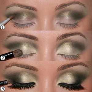 سایه چشم غلیظ سبز