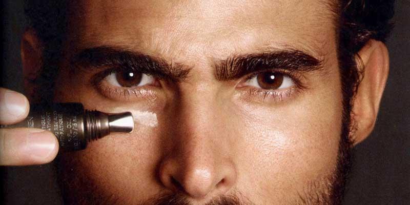 استفاده از کرم دور چشم برای آقایان