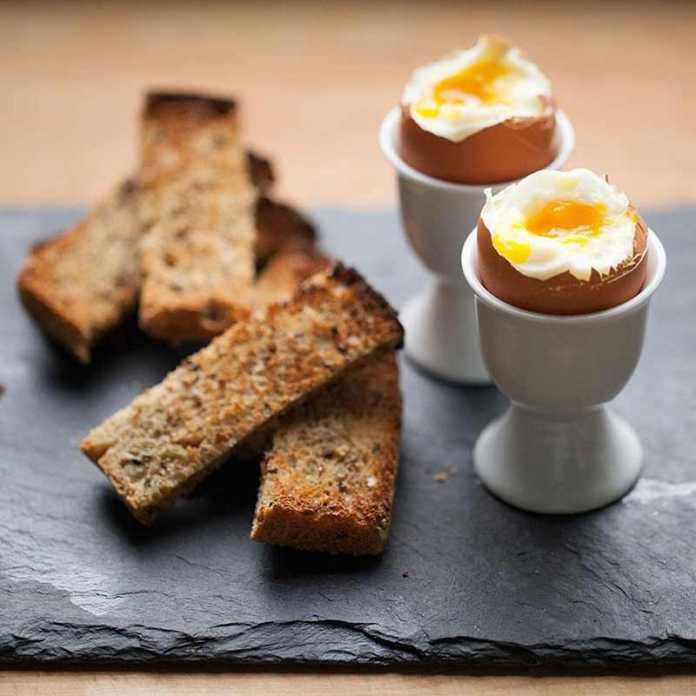 کاهش وزن با مصرف تخم مرغ