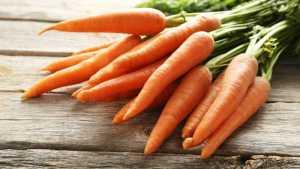 چند عدد هویج