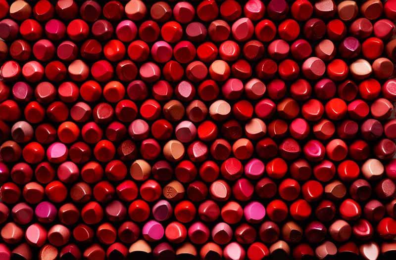 انواع رنگ های رژ لب