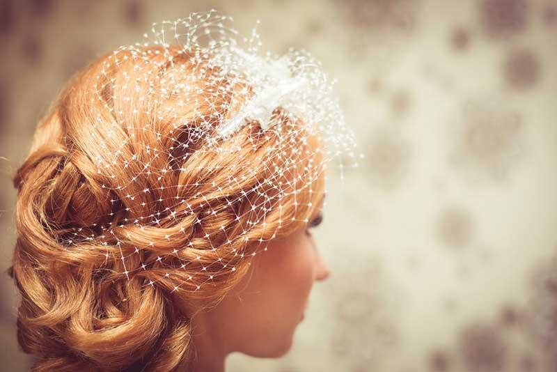 یک عروس در حال فکر کردن