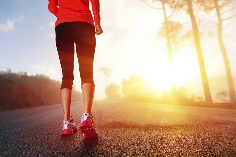 روش هایی برای لاغری ران پا