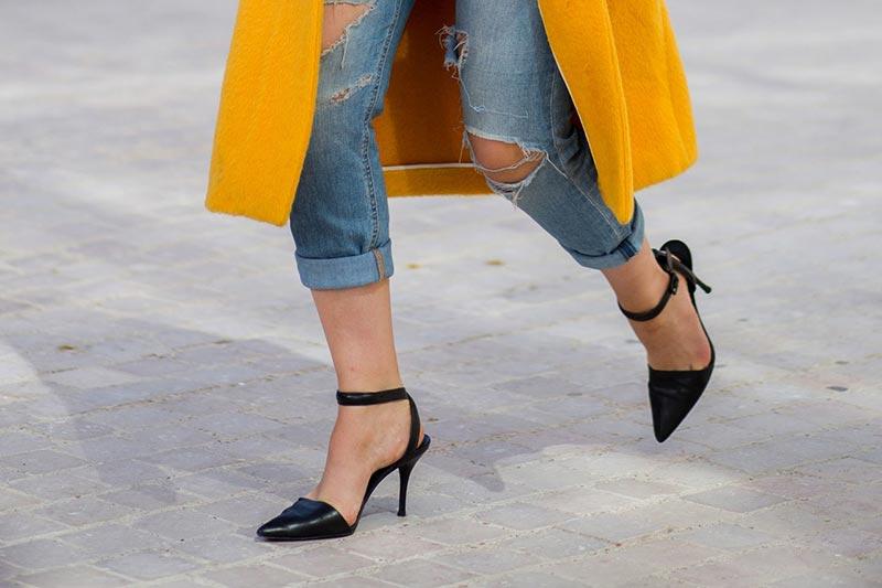 استایل یک خانم با کفش مناسب موقعیت گوناگون