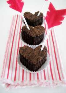 چند کاپ کیک قلبی خانگی
