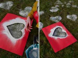 ایده برای ولنتاین با قلب های آردی