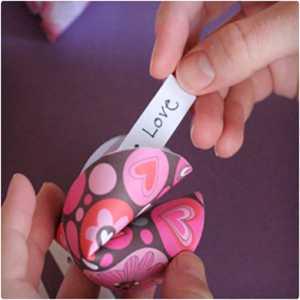 کوکی های بخت آرمایی برای ولنتاین