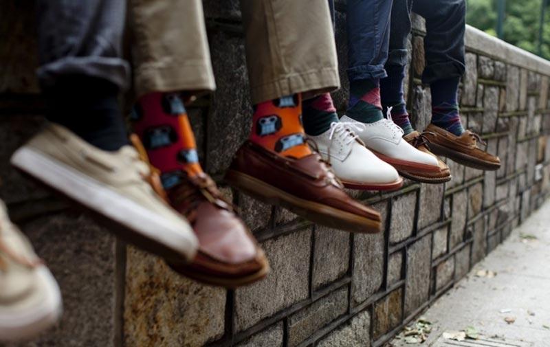 چند روش خاص برای ست کردن جوراب با کفش و شلوار