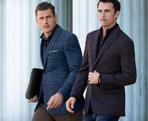 استایل دو آقا با کت و شلوار