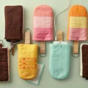 کیف موبایل بستنی شکل دست ساز