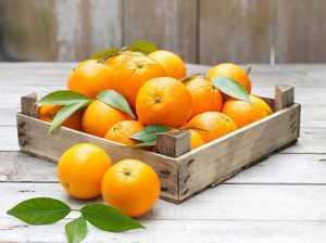 یک ظرف پرتقال