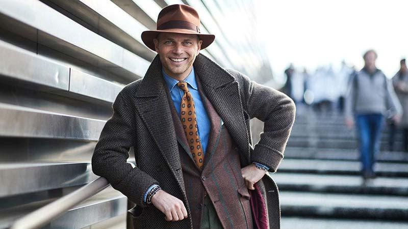 کلاه مردانه مدل فدورا