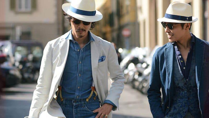 کلاه مردانه مدل پاناما