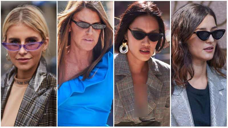 استایل 4 خانم با عینک ماتریکسی