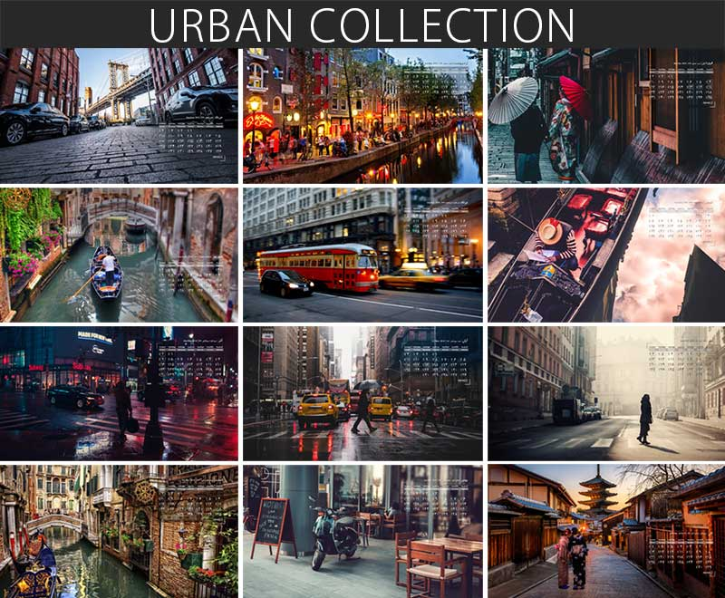 والپیپر تقویم 97 تصاویر زندگی شهری ویژه دسکتاپ کامپیوتر