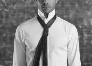 طرف پهن کراوات پشت طرف باریک