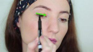استفاده از خط چشم برای چشم گرد