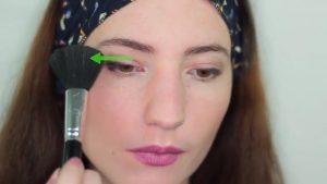 پخش کردن سایه با قلم موی کرکی