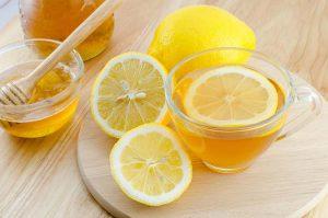 لیمو و چای سبز