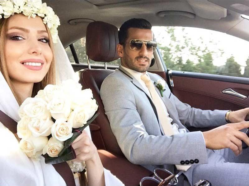 عکس نگین بیرانوند همسر وحید امیری