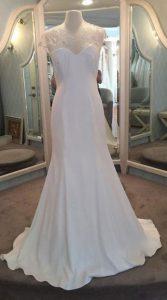 لباس عروس با دامن مدل A