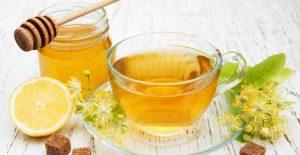 چای سبز و لیمو
