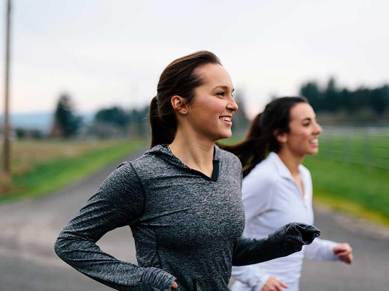 انگیزه برای لاغری از طریق ورزش با دوستان