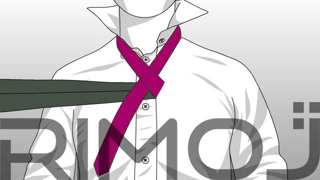 کراوات تک گره مرحله سوم