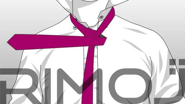 کراوات دو گره مرحله ششم