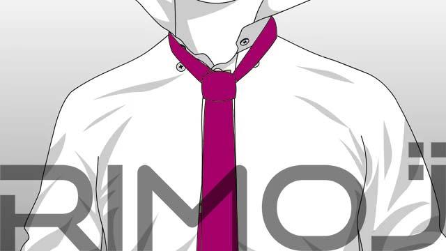 کراوات دو گره مرحله نهم