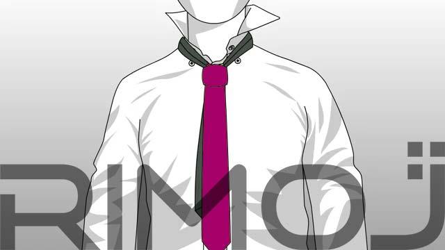 کراوات گره پشت و رو مرحله نهم