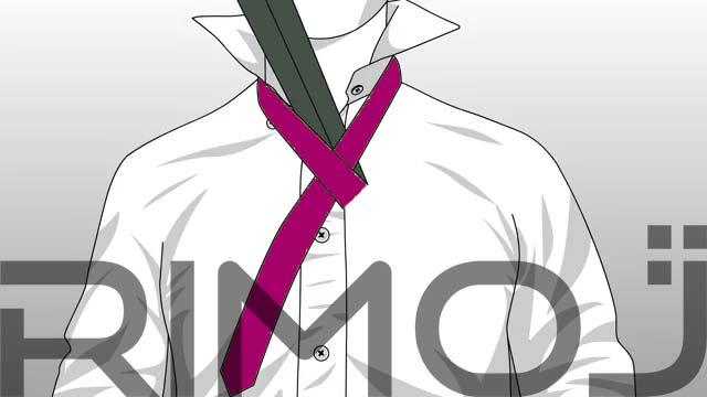 کراوات سه گره مرحله سوم