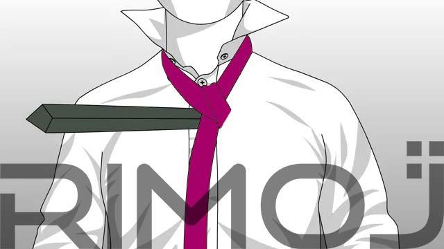 کراوات سه گره مرحله پنجم