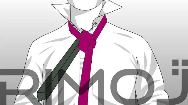 کراوات سه گره مرحله هفتم
