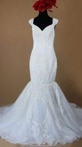 لباس عروس مدل ماهی برای اندام گلابی شکل