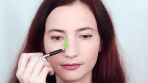 کانتور کردن بینی