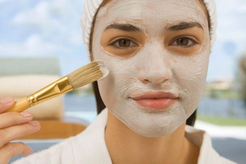 نتیجه تصویری برای ماسک های جوش شیرین برای زیبایی پوست