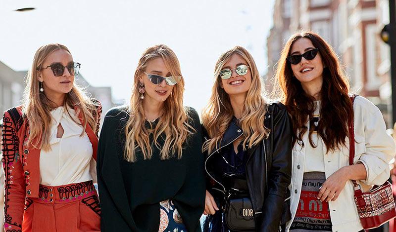 انواع مختلف عینک آفتابی برای خانم ها