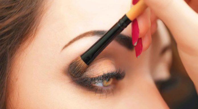 آرایش چشم درشت به صورت حرفه ای