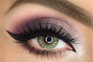 مدل آرایش چشم با سایه و خط چشم