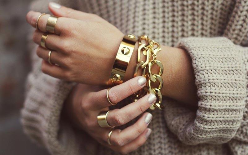 طلا و جواهرات خانم ها