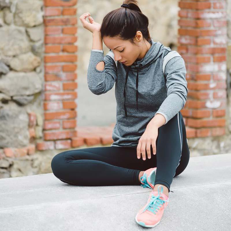 ضعف ناشی از کم آبی بدن در هنگام ورزش کردن