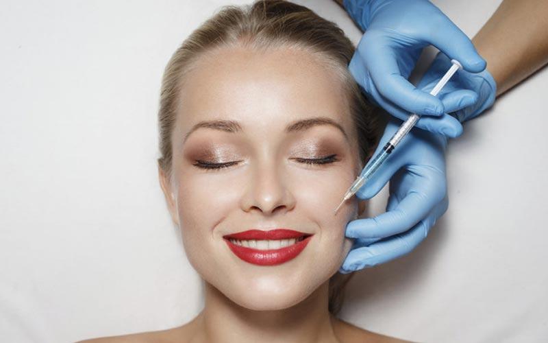 تزریق ژل گونه برای چاقی صورت