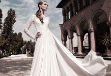 خرید و انتخاب لباس عروس برای افراد قد بلند