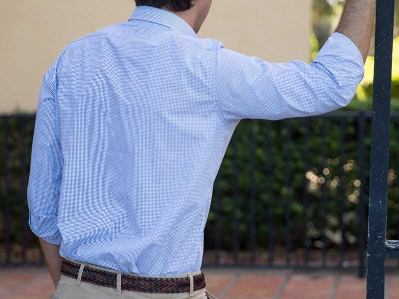 طراحی پشت پیراهن مردانه