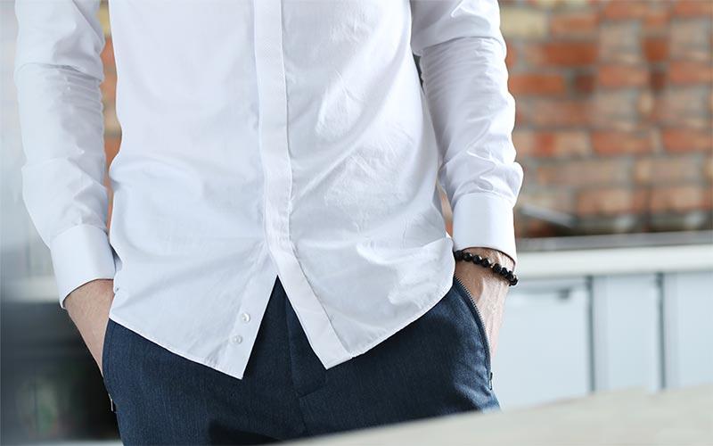 پیراهن روی شلوار