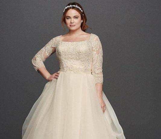 انتخاب لباس عروس برای افراد چاق با رعایت 13 نکته مهم